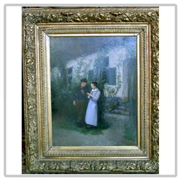 Huile-sur-toile-époque-19e-siècle